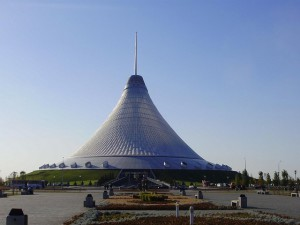 Khan Shatyr shopping center in Nur-Sultan, Kazakhstan