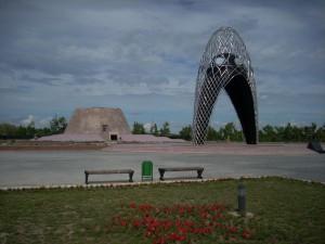 Alzhir Memorial Complex nearby Astana, Kazakhstan