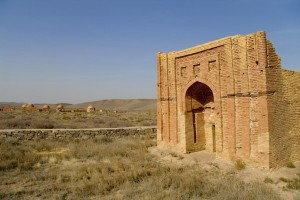 Ayakkamyr Mausoleum in Central Kazakhstan
