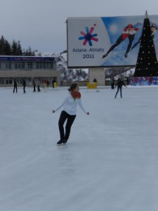 Medeo ice-skating rink, Almaty, Kazakhstan