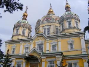 Zenkov cathedrale in Almaty, Kazakhstan