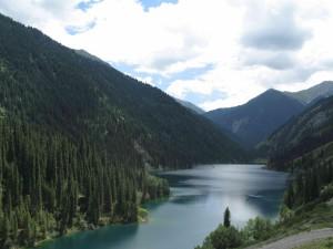 Kolsai Lake in Kazakhstan