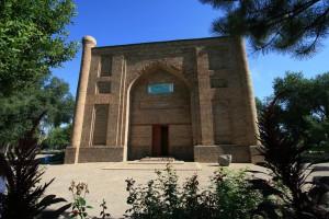 Mausoleum of Babadzha Hatun in Taraz, Kazakhstan