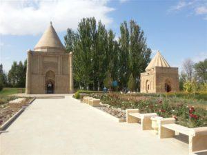 Aisha Bibi Mausoleum in Taraz, Kazakhstan