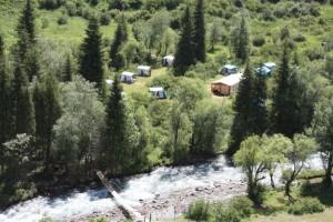 Turgen Basecamp, Kazakhstan