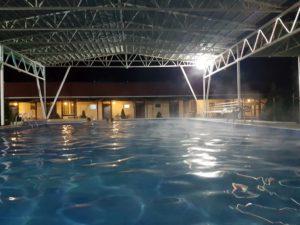 Hot Springs resort at Dzunzdha, Kazakhstan