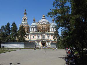 Panfilov Cathedrale, Almaty, Kazakhstan