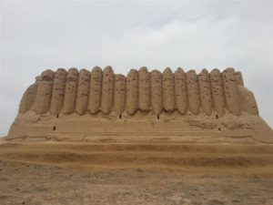 Ancient site in Merv, Turkmenistan