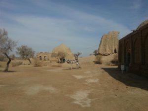 Ancient site in Merv, Turkmenistan