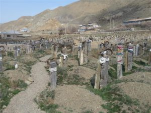 Ancient Cemetory in Nohur, Turkmenistan