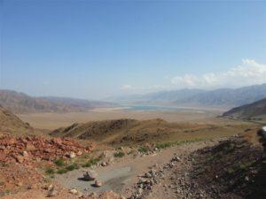 Highlands in Kyrgyzstan