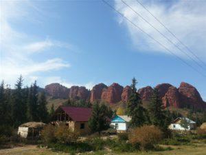 Seven Bull Rocks Yangi Kala, Kyrgyzstan