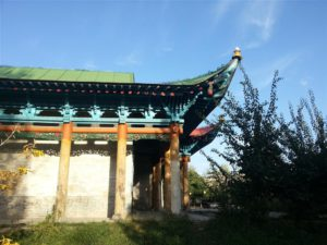 Chinese style Mosque in Karakol