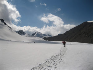 Trekking in Northern Tien Shan Mountains, Kazakhstan