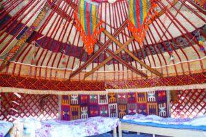 Kazakh Yurt in Uzbekistan