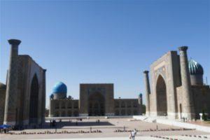 Registan Ensemble, Samarkand, Uzbekistan